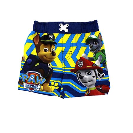 fab3456e64 Nickelodeon - Nickelodeon Paw Patrol Infant & Toddler Boys Blue Swim Trunks  Board Shorts 12m - Walmart.com