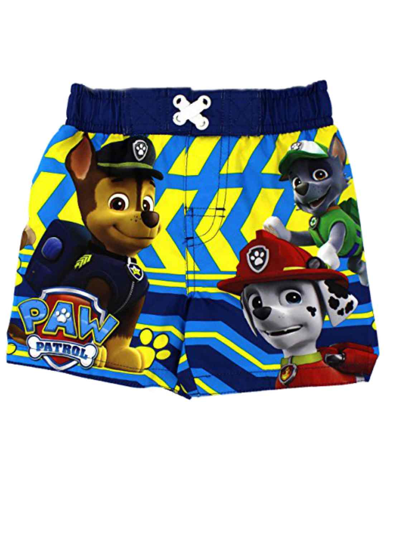 Nickelodeon Paw Patrol Infant & Toddler Boys Blue Swim Trunks Board Shorts