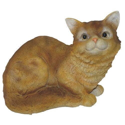 Michael Carr Crouching Cat Statue