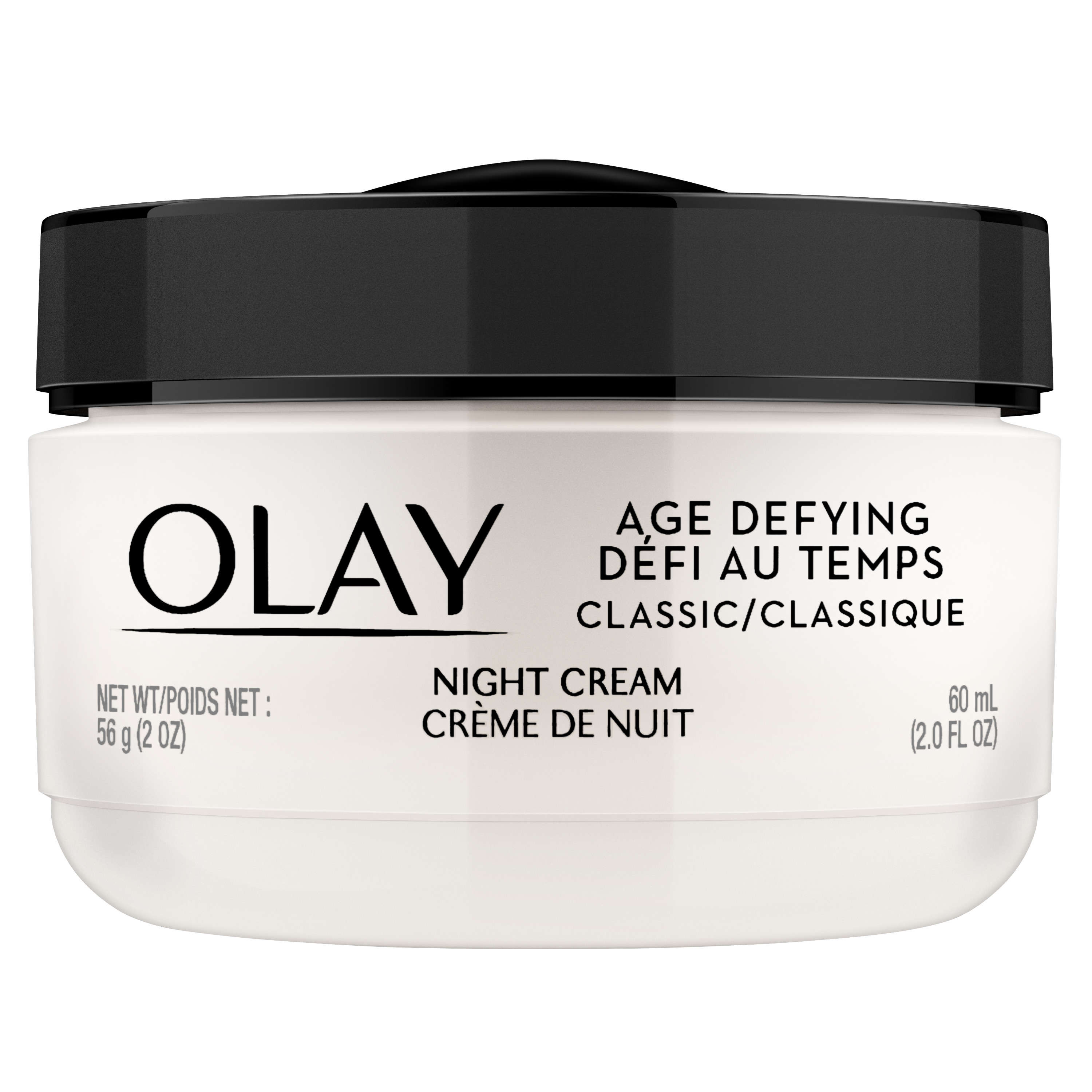 Olay Age Defying Classic Night Cream Face Moisturizer , 2oz