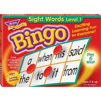 Trend, TEPT6064, Sight Words Bingo Game, 1 Each, Multi