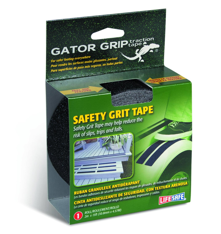 "Gator Grip: Anti-Slip Tape, 2"" x 15', Black"