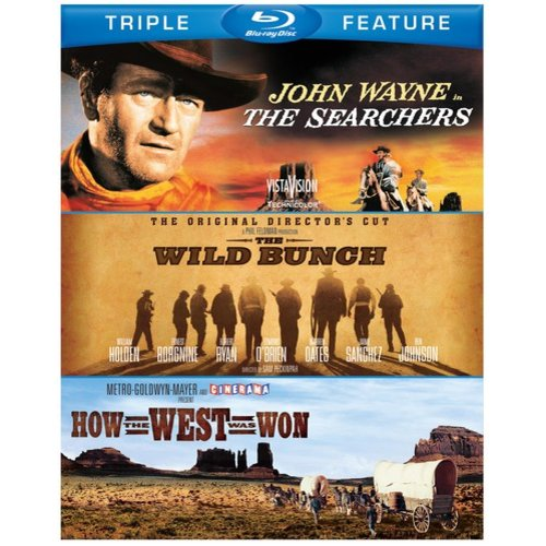 The Searchers / The Wild Bunch / How The West Was Won (Blu-ray)