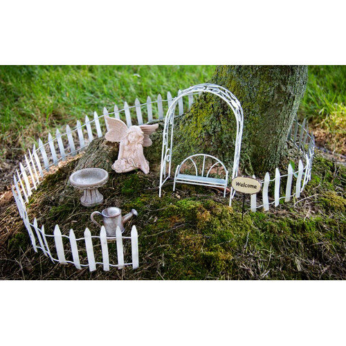 Echo Valley Fairy Garden Starter Accessory Kit