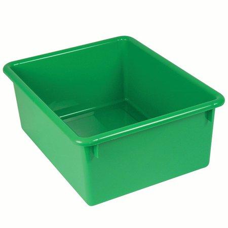 STOWAWAY LETTER BOX GREEN NO LID 13-1/8 X 10-1/2 X 5-1/4