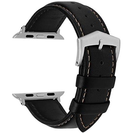 Compatible for Apple Watch Band 38mm 42mm 40mm 44mm, Fullmosa Labu Leather Apple Watch Band/Strap for iWatch Series - image 3 of 5