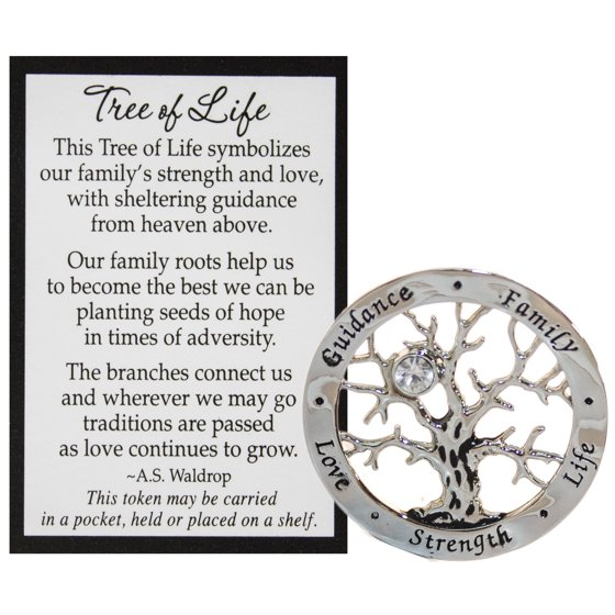 Ganz Tree Of Life Pocket Token W Story Card Walmart