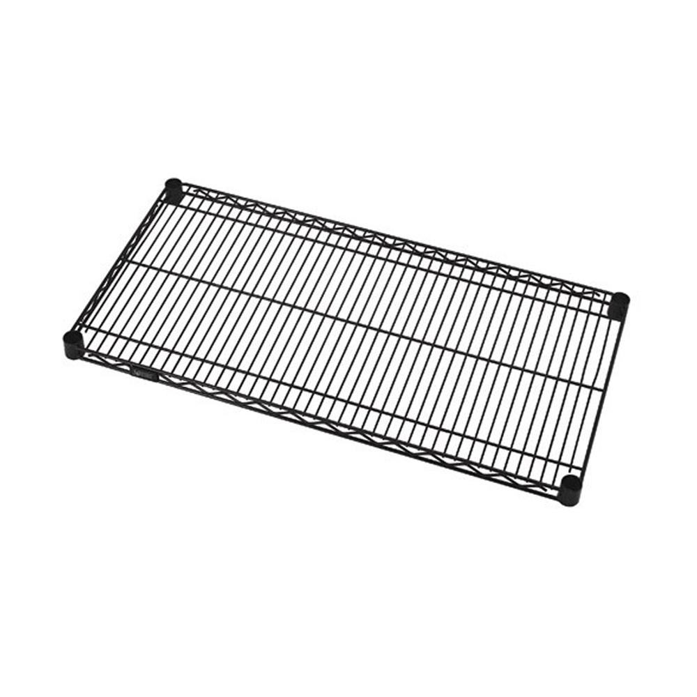"Quantum Black Wire Shelves 18"" X 72"""