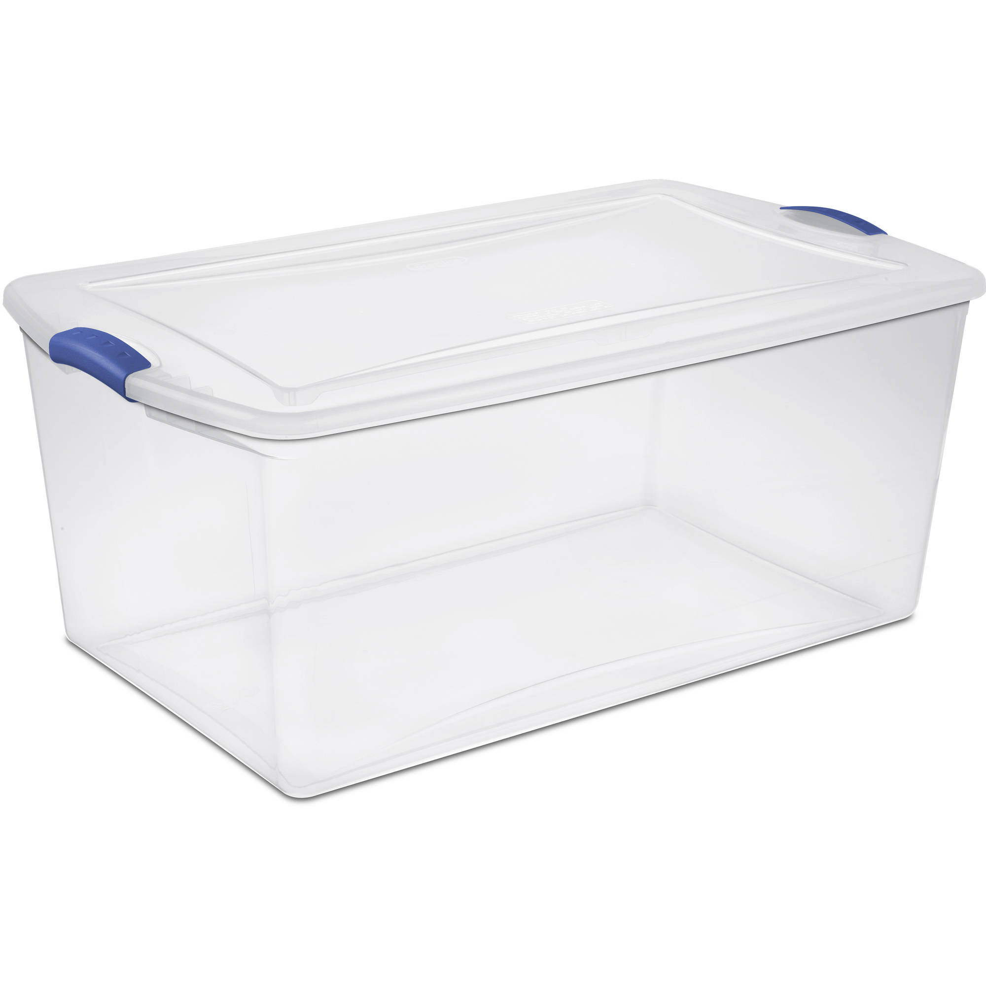 Sterilite 105 Quart Latch Box- Stadium Blue (Available in Case of 4 or Single Unit)