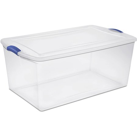 Sterilite, 105 Qt./99 L Latch Box, Multiple Colors