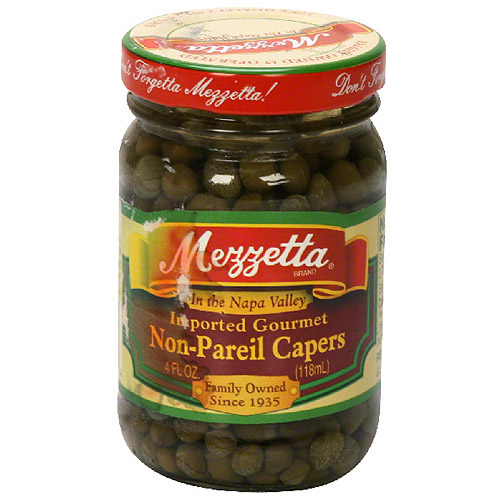 Mezzetta Non-Pareil Capers, 4 oz (Pack of 12)