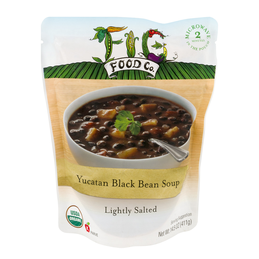 Fig Food Co. Soup Yucatan Black Bean, 14.5 OZ by Fig Food Company, LLC.