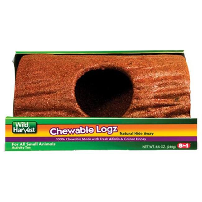 Wild Harvest Edible Logz Hide Away Treat for Small Animals, 8.5 oz