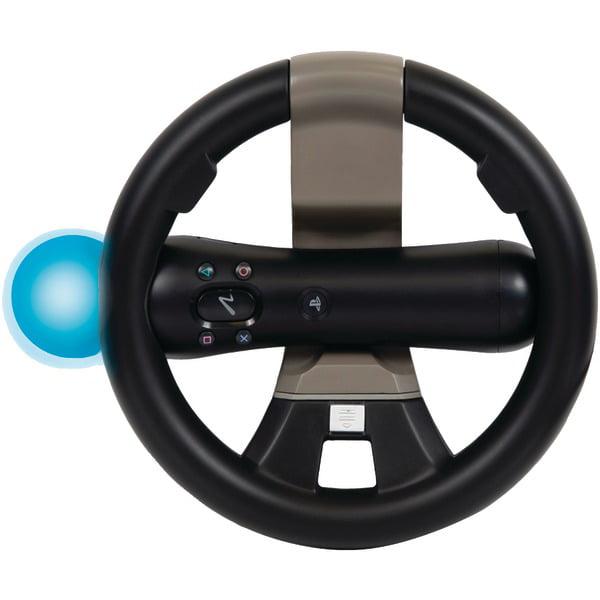 CTA Playstation Move and Dualshock Controller Racing Wheel (PS3)