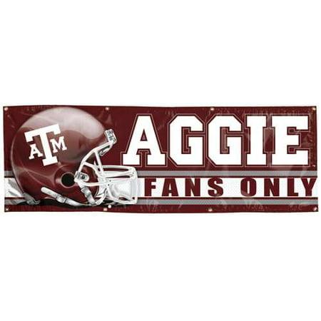 Texas A&M Aggies Vinyl Banner - 2