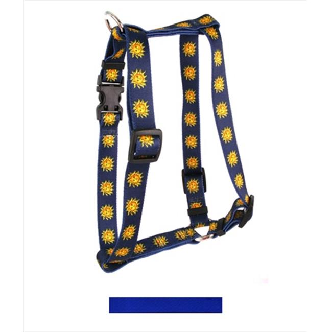 Yellow Dog Design Solid Blue Roman H Harness