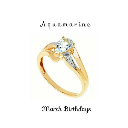 Aquamarine March Birthstone Collection