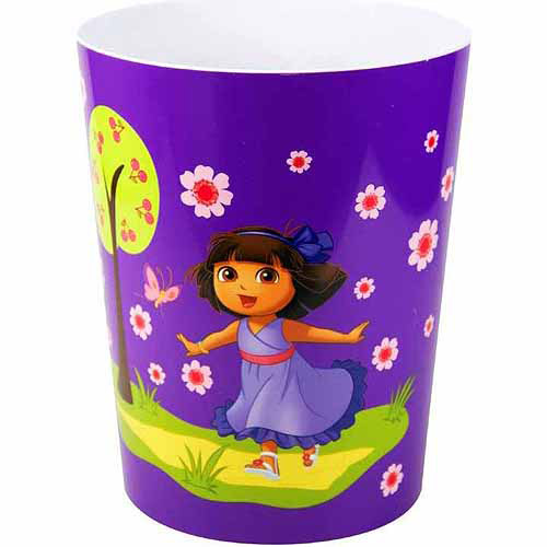 "Dora The Explorer ""Picnic"" Acrylic Wastebasket"
