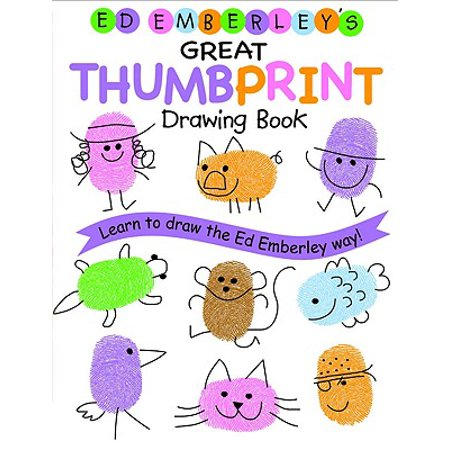 Ed Emberley's Great Thumbprint Drawing Book](Halloween Thumbprints)