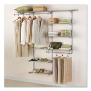 Rubbermaid Configurations Closet Kits, 3'-6', Deluxe, Titanium
