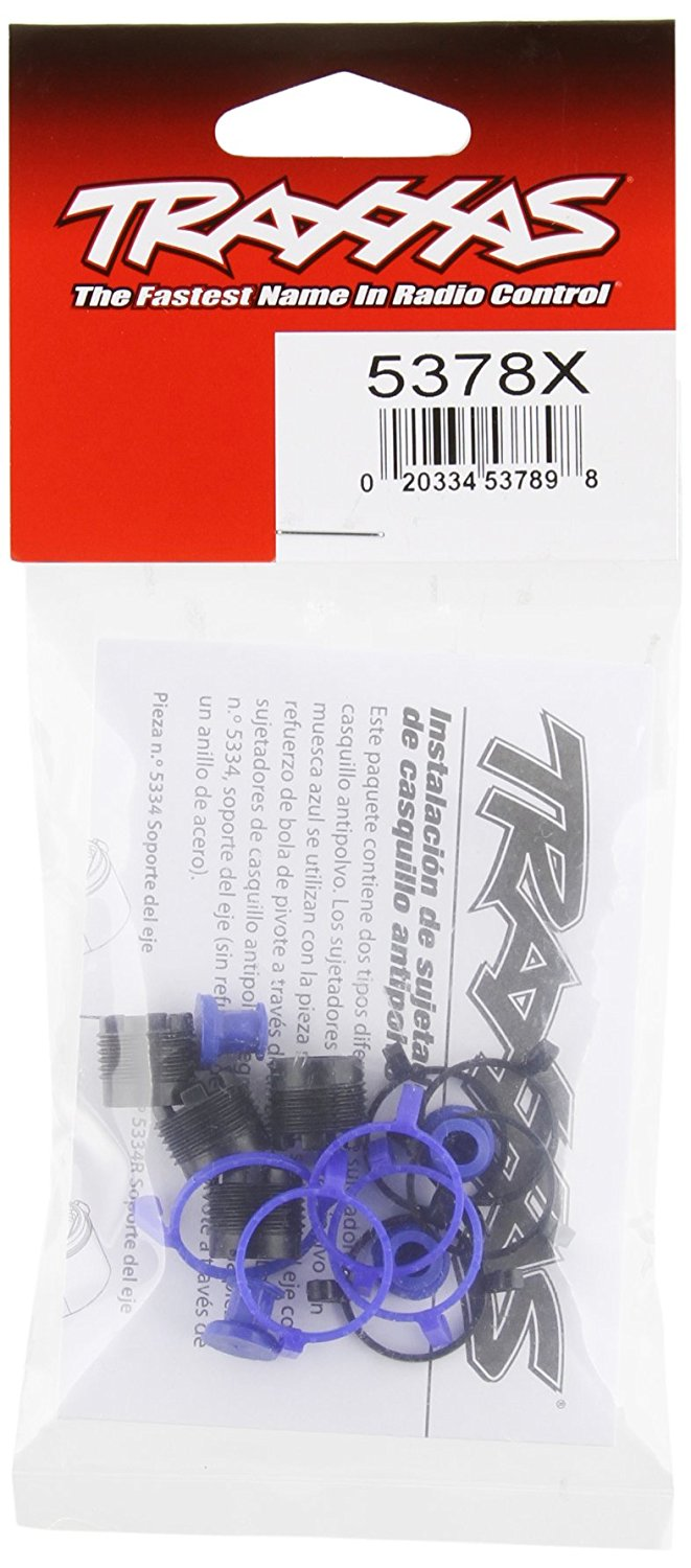 Traxxas 5378X Pivot Ball Caps and Dust Boots (set of four) by