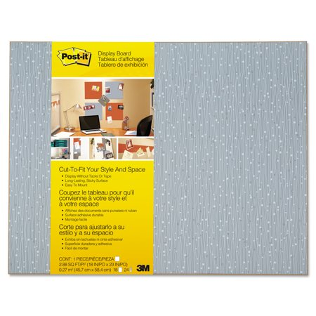 - Post-it Cut-to-Fit Display Board, 18 x 23, Ice, Frameless