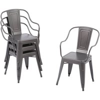 4-Pack Better Homes and Gardens Camrose Farmhouse Industrial Chairs