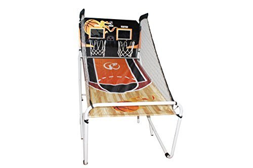 Double Shot Basketball Sport Game with 2 Player Electronic LED Scoring G63801 by GRGM