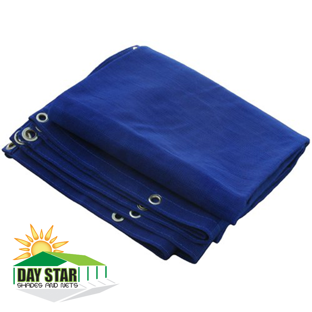 10X16 (Blue) HD Mesh Tarp Net Sun Shade Fence Screen Patio Canopy Top