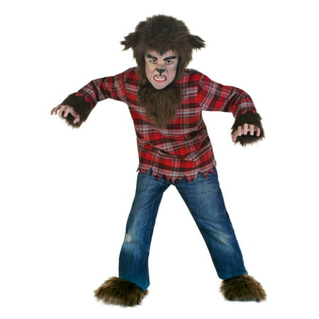 Kids Fierce Werewolf Costume - Werewolf Costume For Kids