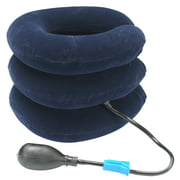 OTC Select Series Inflatable Cervical Traction Unit, Navy, Universal