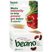 Beano Tablets 30 ea (Pack of 4)