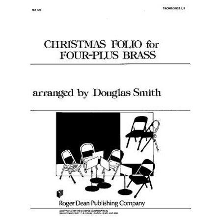 Four Plus Brass - Christmas Folio for Four-Plus Brass - TBN 1 and 2