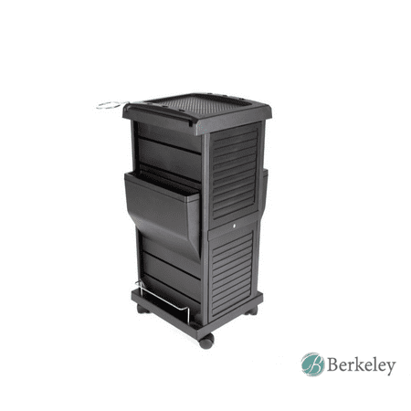 - Berkeley Lockable Salon Trolley Cart Perfect for Hair Salon,Tattoo Studio, Spa, Office, Skincare, Day Spa