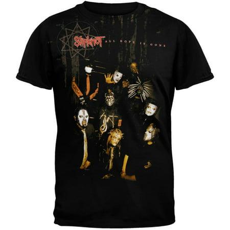 Slipknot - Jumbo Sepia All-Over T-Shirt (Slipknot Drummer)