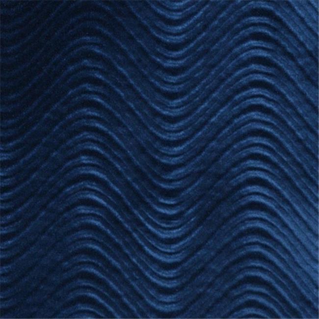 Designer Fabrics C845 54 in. Wide Blue, Classic Velvet Swirl Automotive, Residential And Commercial Upholstery Velvet