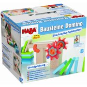 HABA Domino Basic Pack - 86 Piece Set with Endless Combinations For Ages 3-10 (Made in Germany)