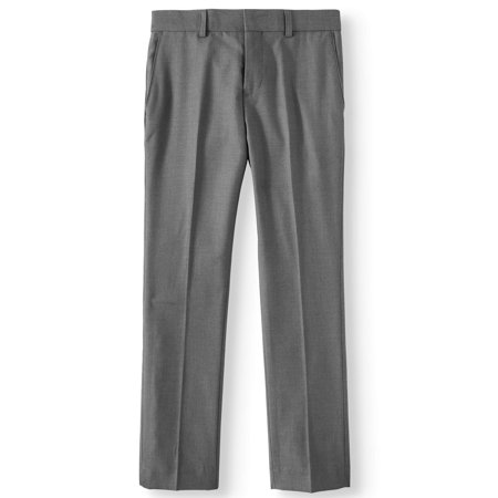 English Laundry Boys 8-18 Slim Fit Rayon Flat Front Dress Pants Blue Dress Pants