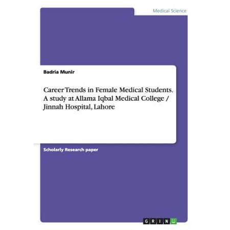 Career Trends in Female Medical Students. a Study at Allama Iqbal Medical College / Jinnah Hospital,