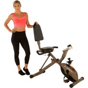 Exerpeutic GOLD 525XLR Folding 400 lb Maximum Capacity Recumbent Exercise Bike by Generic