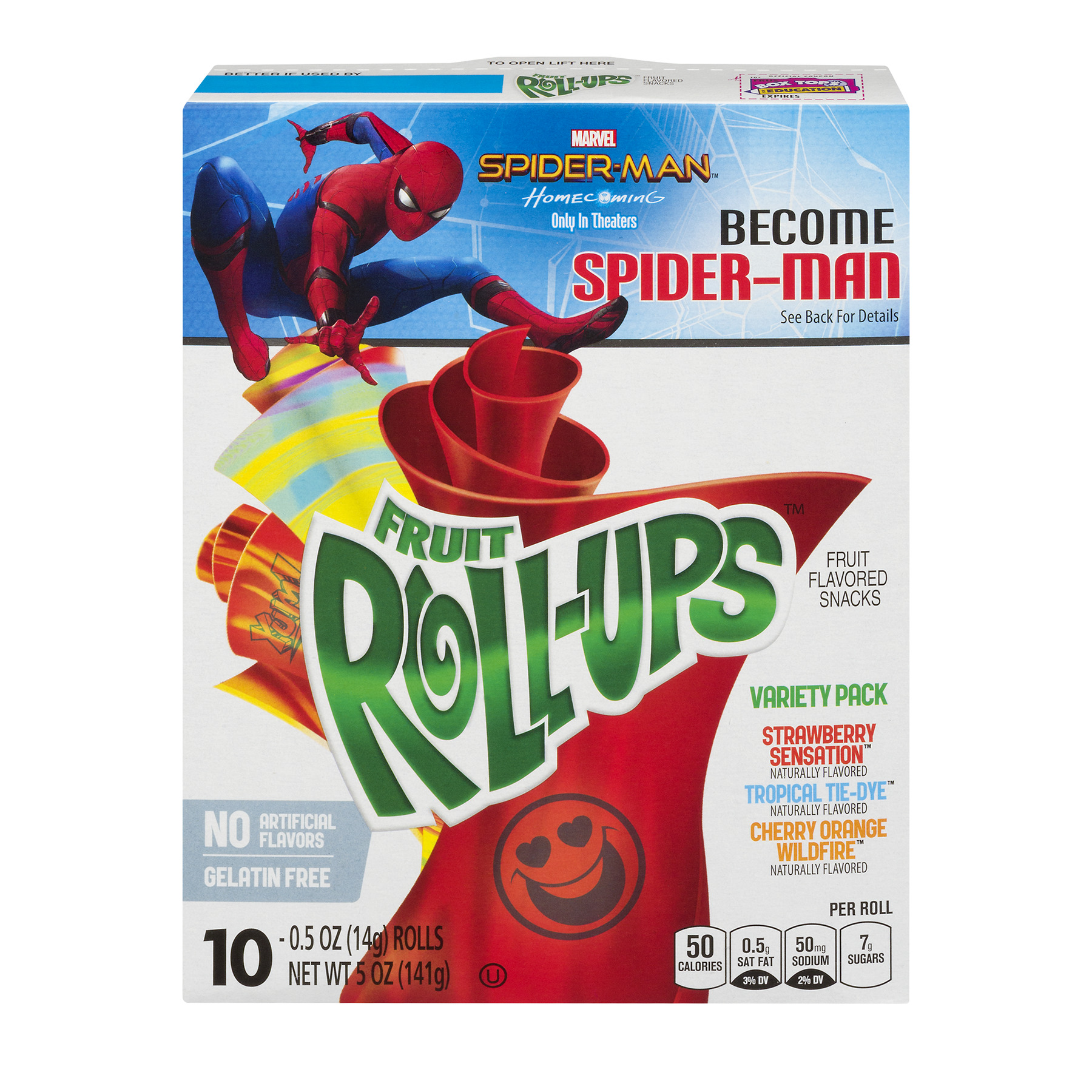 Betty Crocker Fruit Roll-Ups, Variety Pack, 5 Oz, 10 Ct