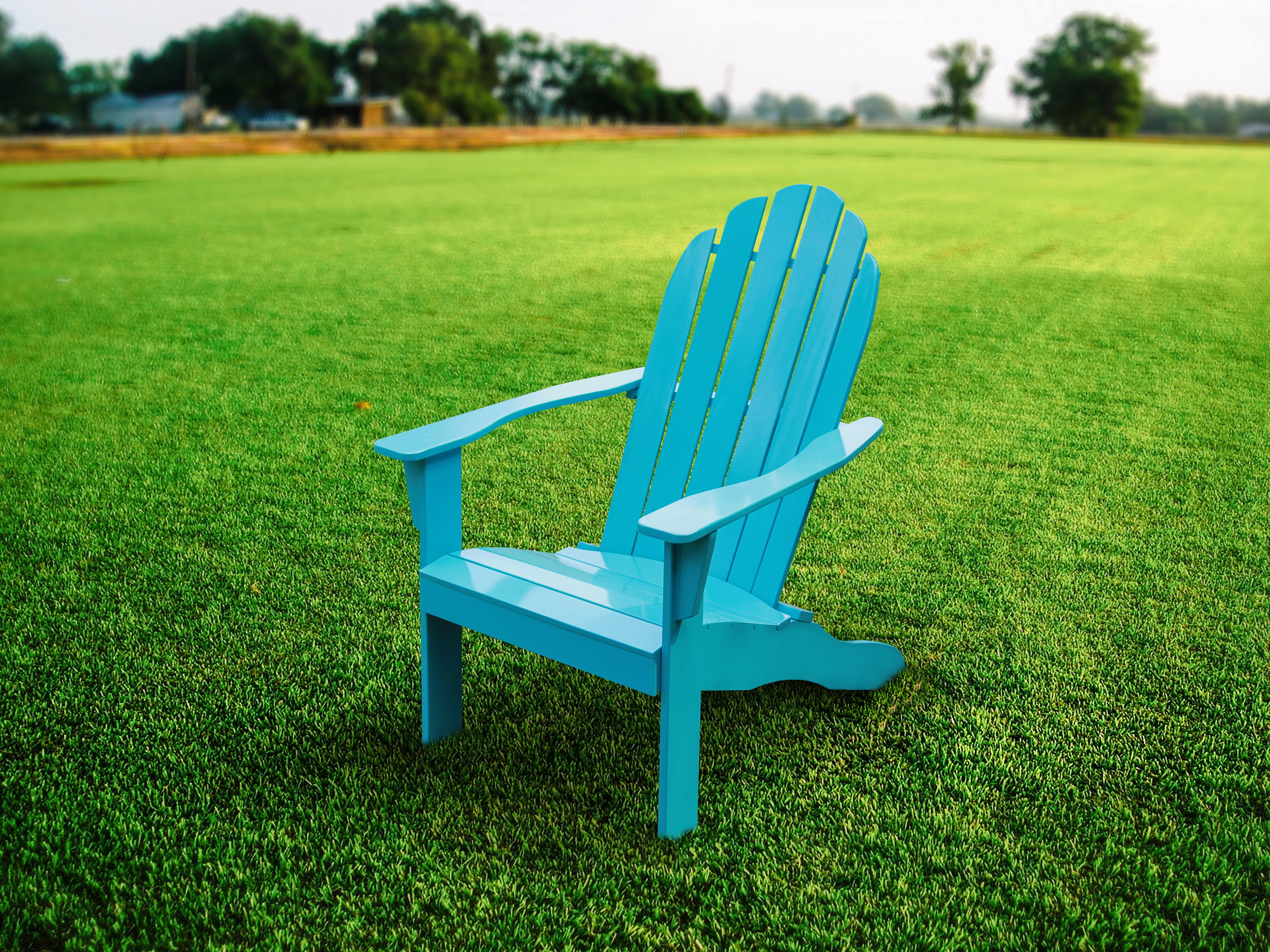 Mainstays Wood Adirondack Chair   Walmart.com