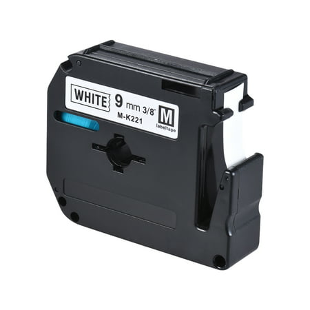 Label Tape Compatible for Brother PT-65/PT-70/PT80  Label Printer 9mm * (Springfield Xdm 9mm Full Size For Sale)
