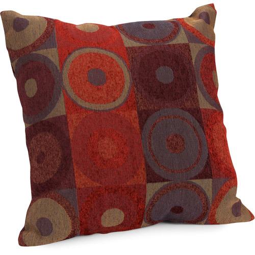 Hometrends Circles and Squares Decorative Pillow