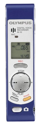 Olympus W_10 Digital Voice Recorder with Built_in Digital Camera by Olympus
