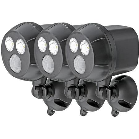 Mr. Beams Wireless Motion Sensing LED UltraBright Spotlight, 3pk