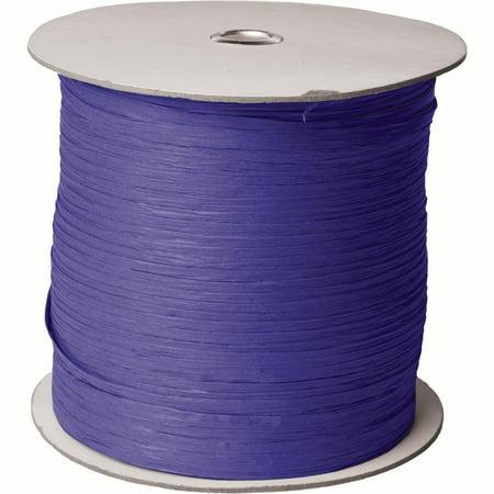 Jillson Roberts Paper Raffia Ribbon 1 4 Wide X 1000 Yards Purple