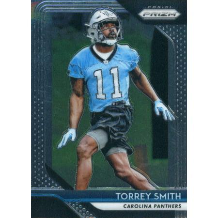 2018 Panini Prizm #174 Torrey Smith Carolina Panthers Football Card