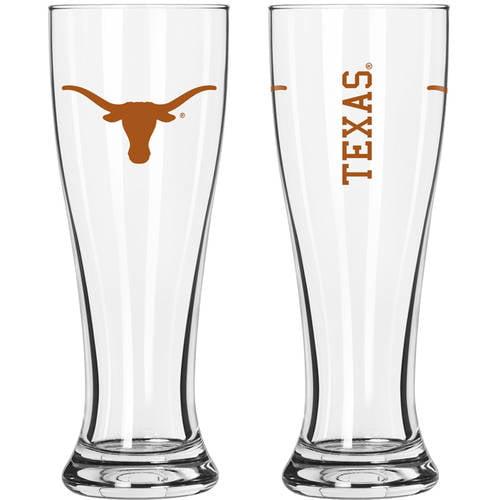 Boelter Brands NCAA University of Texas Longhorns 2-Pack Gameday Pilsner Set