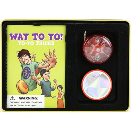 Spice Box Way to Yo! Yo-Yo Tricks Starter Tin